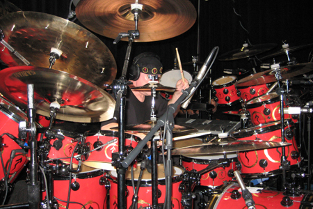 Neil Peart Time Machine Drum Kit. Neil Peart, legendary drummer