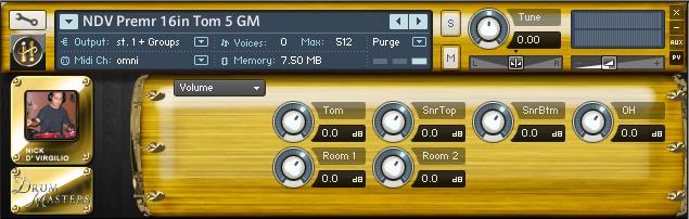 Buy Drum Masters 2: NDV Multitrack Premr Drum Kit<BR>Infinite Player