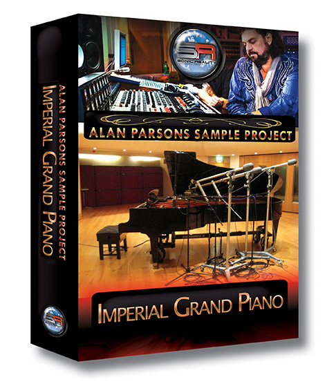 Alan Parsons Imperial Grand Piano box cover art