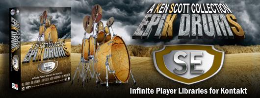 EpiK DrumS SE banner