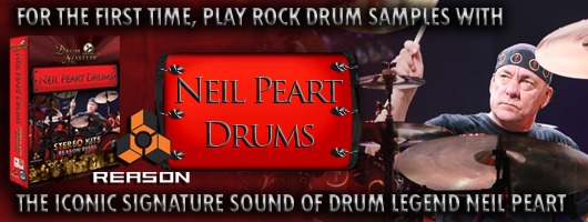 Neil Peart Drums Stereo Kits Reason Refill