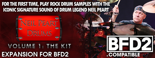 Neil Peart Drums for BFD2