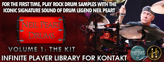 Neil Peart Drums for Kontakt