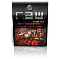 R.A.W. Artist Pak: Neil Peart Drums Vol. 2 Modern Grooves